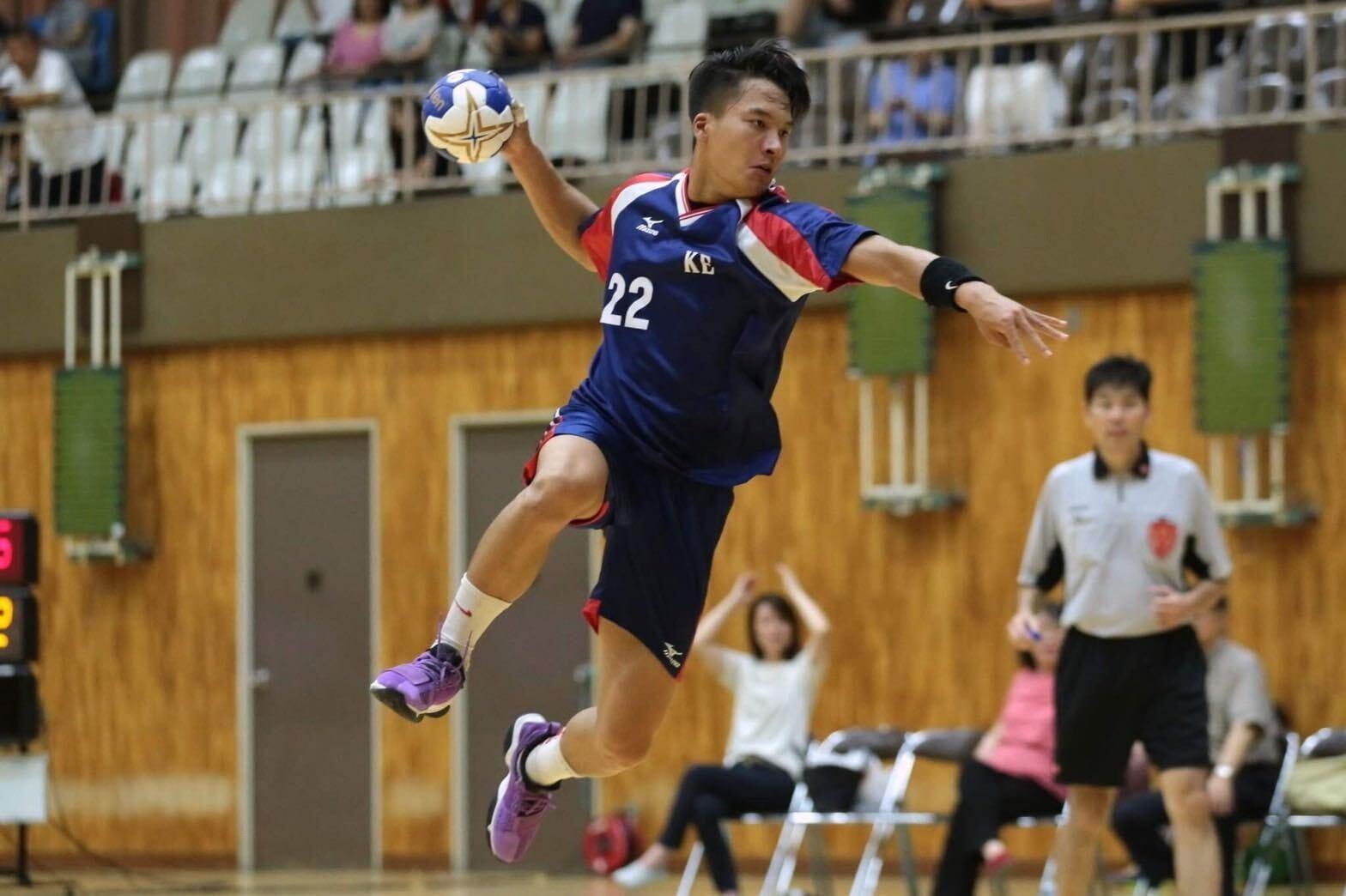 塚本清修:慶應大学 慶應体育会ハンドボール部主将